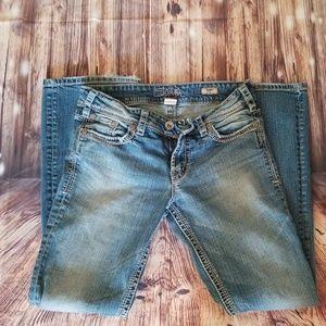 Silver suki bootcut jeans 29x32
